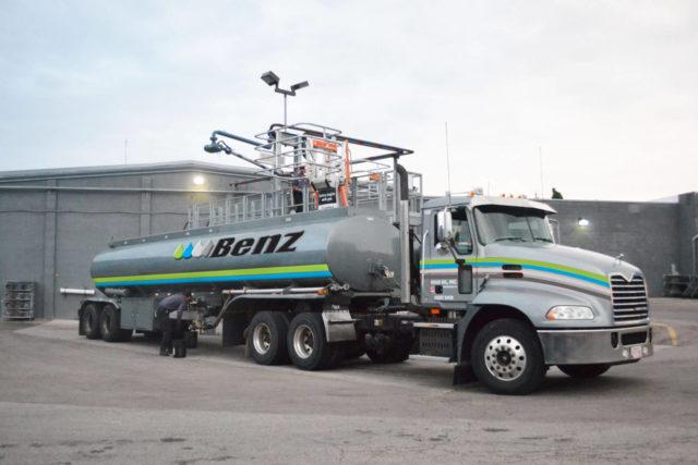 benz oil progressive new branding