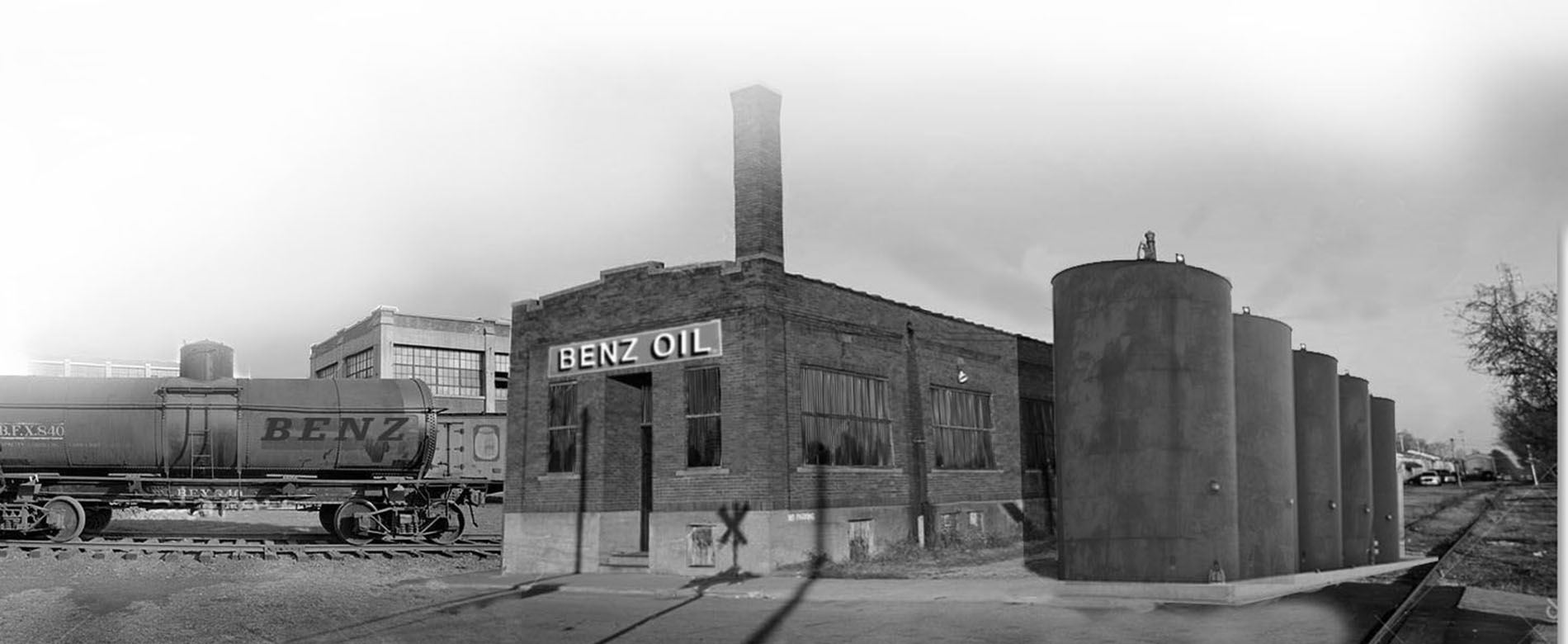 benz oil storefront, benz oil rail spur, metalworking fluids, metalworking fluids manufacturer
